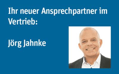 Ihr neuer Ansprechpartner im Vertrieb: Jörg Jahnke