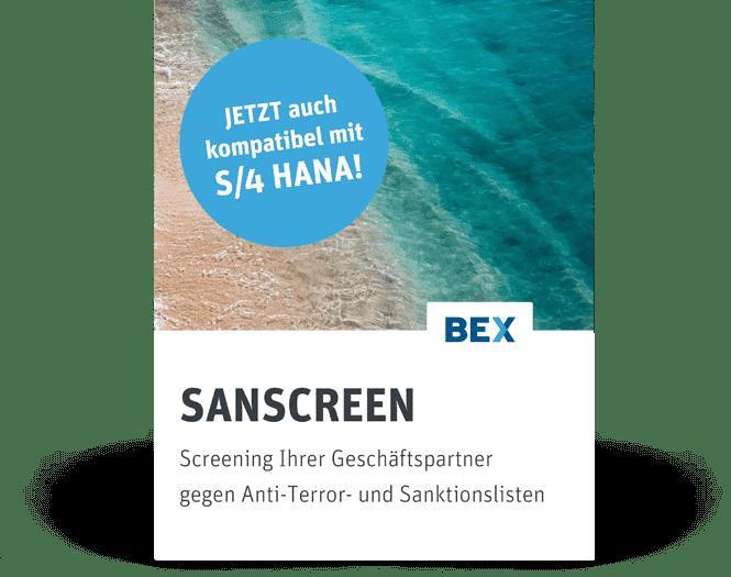 SANSCREEN kompatibel mit S4HANA Produktbild