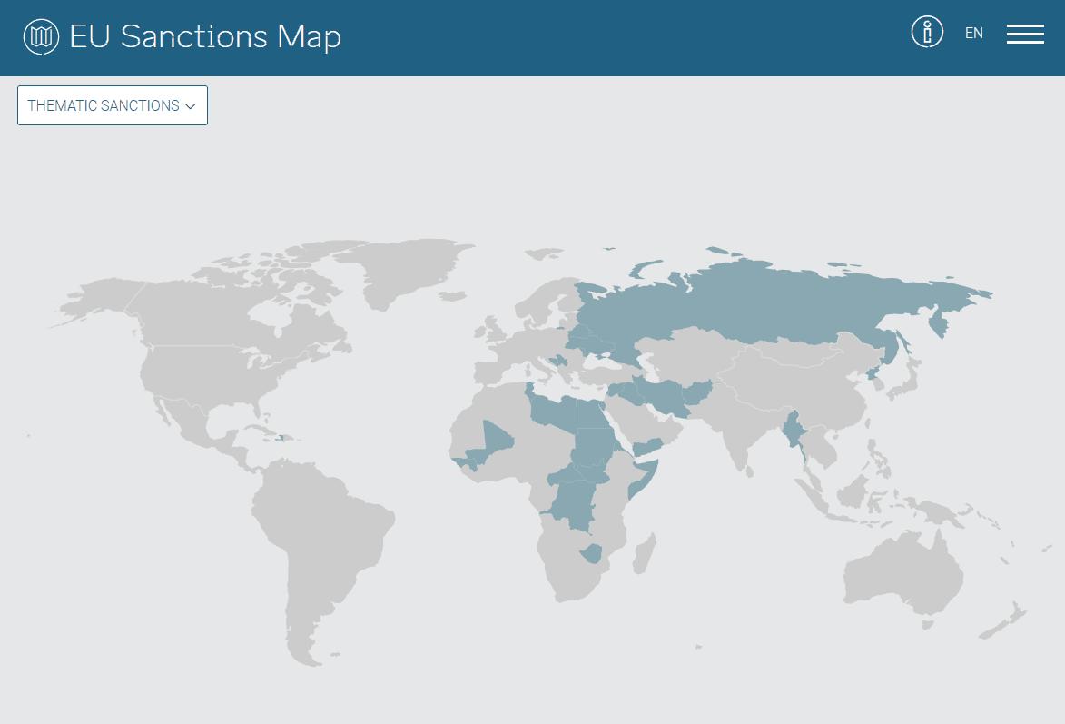 EU Sanction Map