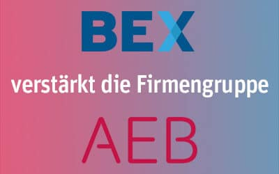 BEX verstärkt die Firmengruppe AEB